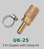 2 Pc Coupler with Clamp Kit (UK-25)